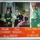 GU33 Tomorrow Is Forever CLAUDETTE COLBERT Lobby Card