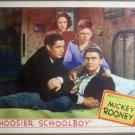 GV11 Hoosier Schoolboy MICKEY ROONEY Lobby Card