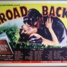 GV28 Road Back JOHN KING Original 1937 Title Lobby Card