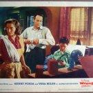 GV39 Wrong Man HENRY FONDA/VERA MILES Lobby Card