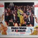 GX24 Paris When It Sizzles AUDREY HEPBURN Lobby Card