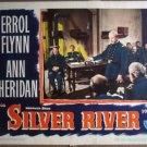 GX30 Silver River ERROL FLYNN 1948  Lobby Card