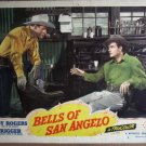 GY02 Bells Of San Angelo ROY ROGERS 1947 Lobby Card