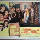GY06 Here To Eternity MONTY CLIFT/SINATRA Lobby Card