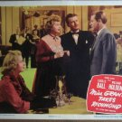 GY17 Miss Grant Takes Richmond LUCILLE BALL Lobby Card