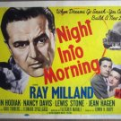 GY22 Night Unto Morning NANCY REAGAN Title Lobby Card
