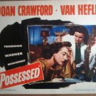 GY25 Possessed JOAN CRAWFORD 1947 Lobby Card
