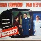 GZ12 Possessed JOAN CRAWFORD/RAYMOND MASSEY Lobby Card