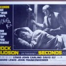 GZ17 Seconds ROCK HUDSON 1966 Lobby Card