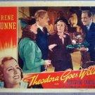GZ24 Theodora Goes Wild IRENE DUNNE 1936 Lobby Card