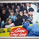 GZ25 7 Days Leave LUCILLE BALL/VICTOR MATURE Lobby Card