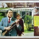 GZ26 To Kill A Mockingbird GREGORY PECK Lobby Card