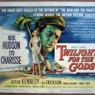 GZ28 Twilight For Gods ROCK HUDSON  Title Lobby Card