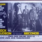 HA19 Seconds ROCK HUDSON Lobby Card