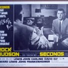 HA20 Seconds ROCK HUDSON Lobby Card