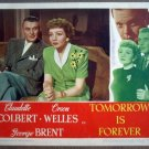 HA25 Tomorrow Is Forever CLAUDETTE COLBERT Lobby Card