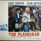 HB10 Cecil B. DeMille Plainsman JEAN ARTHUR Lobby Card