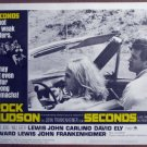 HB13 Seconds ROCK HUDSON 1966  Lobby Card