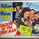 HB15 Shadow Of Thin Man WM POWELL/LOY Title Lobby Card