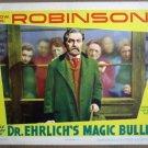 HB21 Dr Ehrlichs Magic Bullet EDW G ROBINSON Lobby Card