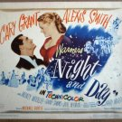 HC09 Night & Day CARY GRANT/A SMITH Title Lobby Card