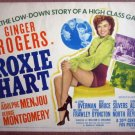 HC15 Roxie Hart  GINGER ROGERS 1942 Title Lobby Card