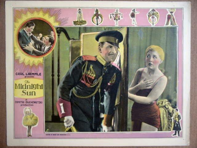 HD20 Midnight Sun LAURA LaPLANT 1926 Lobby Card