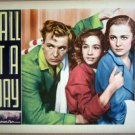 HD06 Call It A Day OLIVIA DeHAVILLAND 1937 Lobby Card