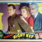 HI20 Night Key BORIS KARLOFF Original 1937 Lobby Card