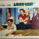 HK05 Green Light ERROL FLYNN Original 1937 Lobby Card