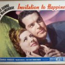 HK08 Invitation To Happiness IRENE DUNNE '39 Lobby Card