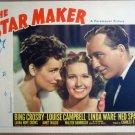 HK20 Star Maker BING CROSBY 1939 Portrait Lobby Card