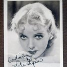 HL25 IDA LUPINO (signed) 1930s Studio Publicity Still