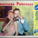 HD18A Louisiana Purchase BOB HOPE orig 1941 lobby card