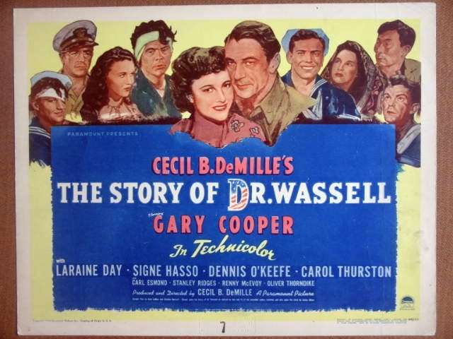 HD34 Story of Dr. Wasse GARY COOPER Title Lobby Card