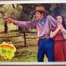 HE18 Ramona LORETTA YOUNG/JOHN CARRADINE Lobby Card