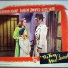 HE30 2 Mrs Carrolls HUMPHREY BOGART/STANWYCK Lobby Card