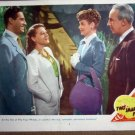 HH34 2 Smart People LUCILLE BALL/JOHN HODIAK Lobby Card