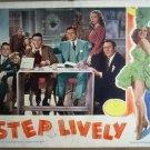 HK21 Step Lively FRANK SINATRA/G MURPHY Lobby Card