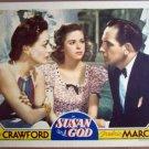 HK22 Susan & God JOAN CRAWFORD/MARCH Lobby Card