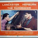 HF25 Rainmaker KATHARINE HEPBURN/B LANCASTER Lobby Card
