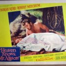 HH15 Heaven Knows Mr Allison ROBERT MITCHUM Lobby Card