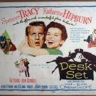 HJ06 Desk Set KATHARINE HEPBURN/TRACY Title Lobby Card