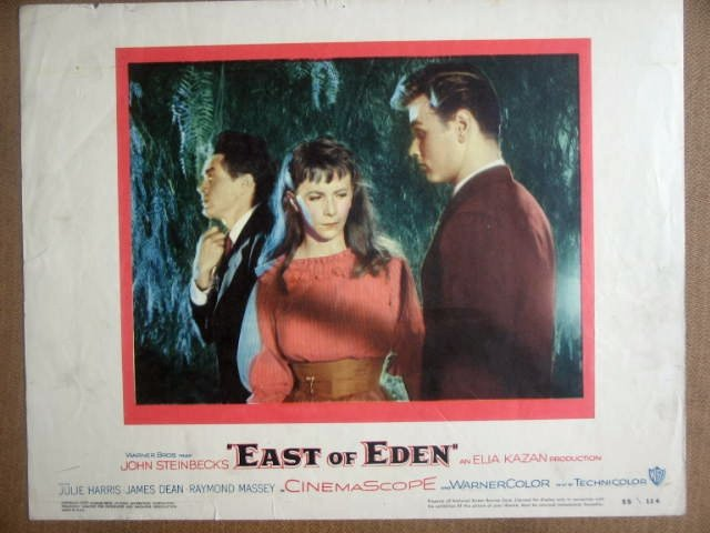 HJ07 East Of Eden JAMES DEAN/JULIE HARRIS Lobby Card