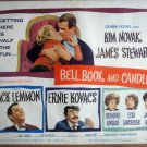 HK02 Bell Book & Candle JAMES STEWART Title Lobby Card