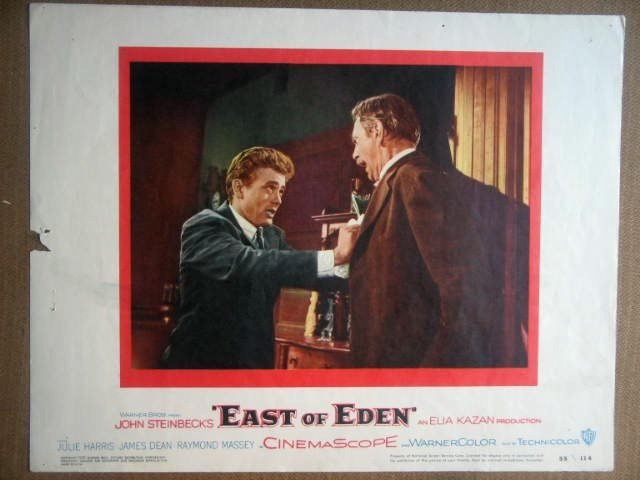 HM14 East Of Eden JAMES DEAN Original 1955 Lobby Card