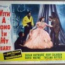 HM34 With A Song In My Heart SUSAN HAYWARD Lobby Card