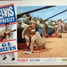HG10 G.I. Blues ELVIS PRESLEY Original 1960  Lobby Card