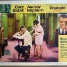 HI03 Charade CARY GRANT/AUDREY HEPBURN Lobby Card