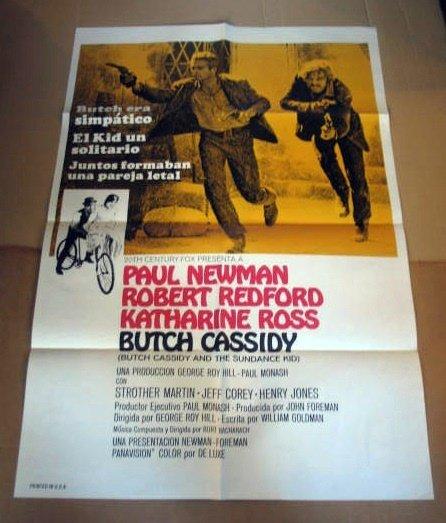 HL03 Butch Cassidy & Sundance Kid One Sheet Poster